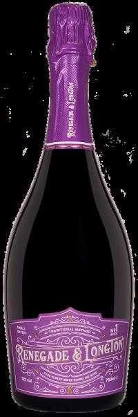 Renegade and Longton Pure elderflower Sparkling Wine Bottle