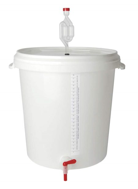 Fermenting bucket for home wine making
