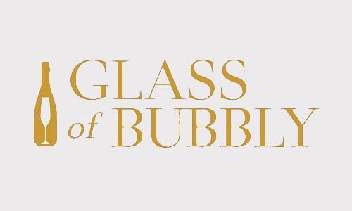 Glass of bubbly logo