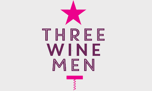 Three wine men logo