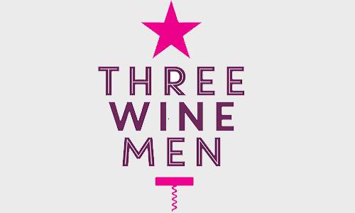 Three wine men logo